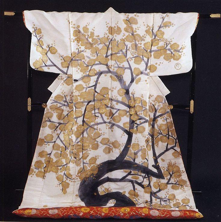 Kimono displayed at the Saltzburg Museum