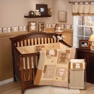 Teddy Bear Bedding By Eddie Bauer Teddy Bear Baby Crib