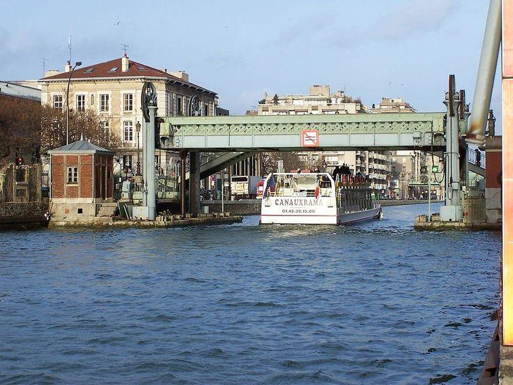 Pont levant paris - Pont levant de la rue de Crimée