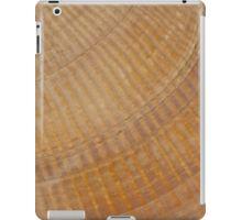 iPad Case/Skin.  #scallopseashell #seashell #seashellmacro #macro #sandrafoster #sandrafosterredbubble