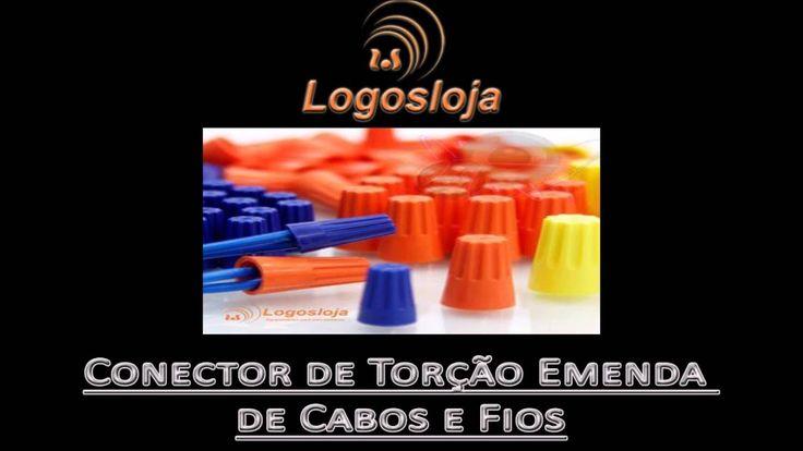 Conector de Torção Emenda de Cabos e Fios - Logos Loja