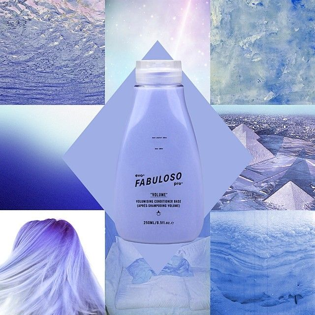 introducing fabuloso pro™ formula no. 7301: 'majestic sky blue'. 230g conditioner + 2g blue + 18g conditioner base.