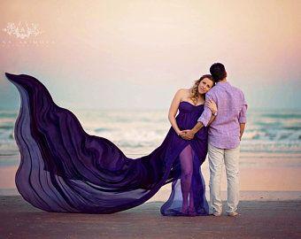 rachel gown sheer maternity gown empire waist maternity