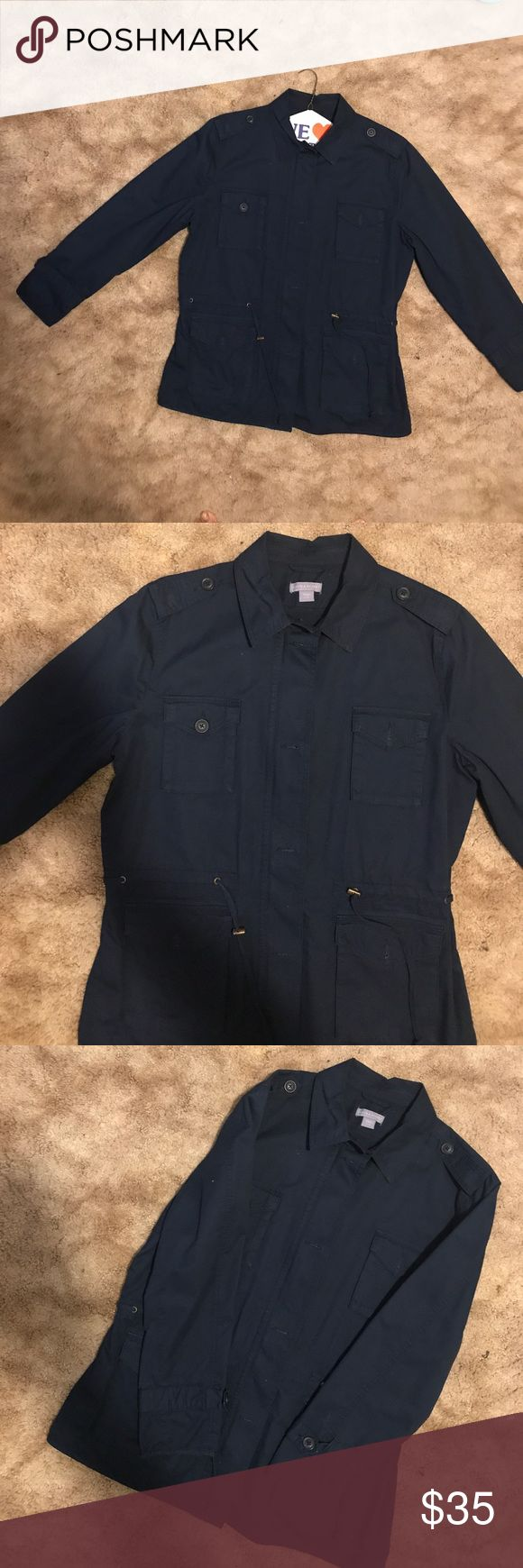Spring /summer jacket FINAL SALE Jacket is in excellent condition comes from a smoke and pet free home Laura Scott Jackets & Coats Utility Jackets