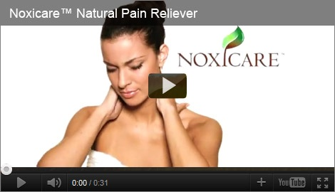 Noxicare™ Fast Acting, Long Lasting, Natural Pain Reliever