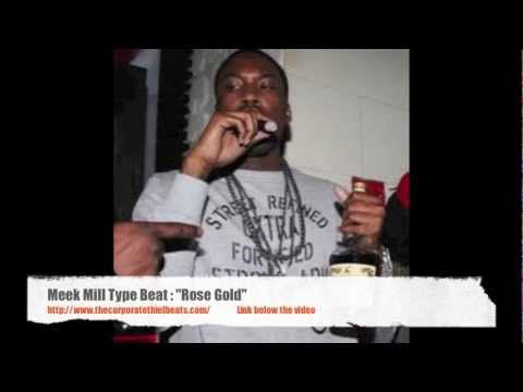 "Meek Mill Type Beat ""Rose Gold"", via YouTube."