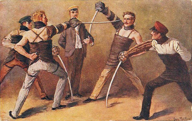 Mühlberg - Säbelmensur - Historical European martial arts - Wikipedia, the free encyclopedia