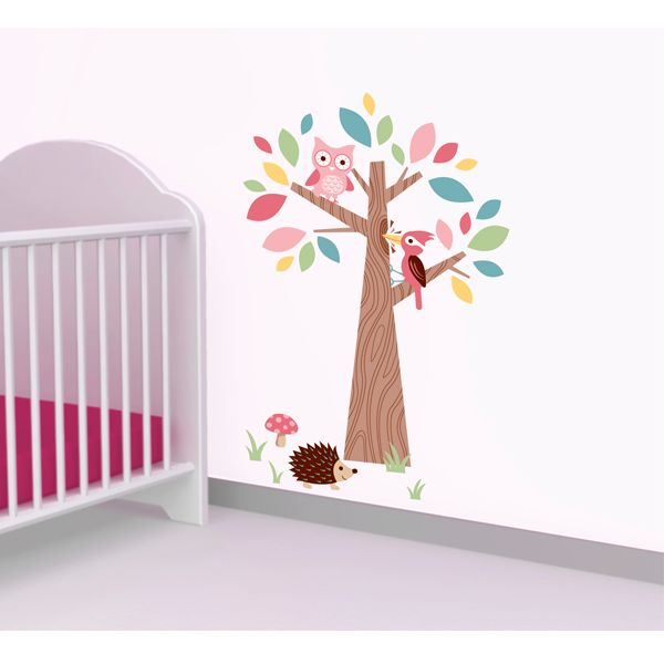 Forwalls Forest Friends Wall Sticker $54.95. Easy to apply, easy to remove, easy on the eyes! #Wall_Stickers #Wall_Decals