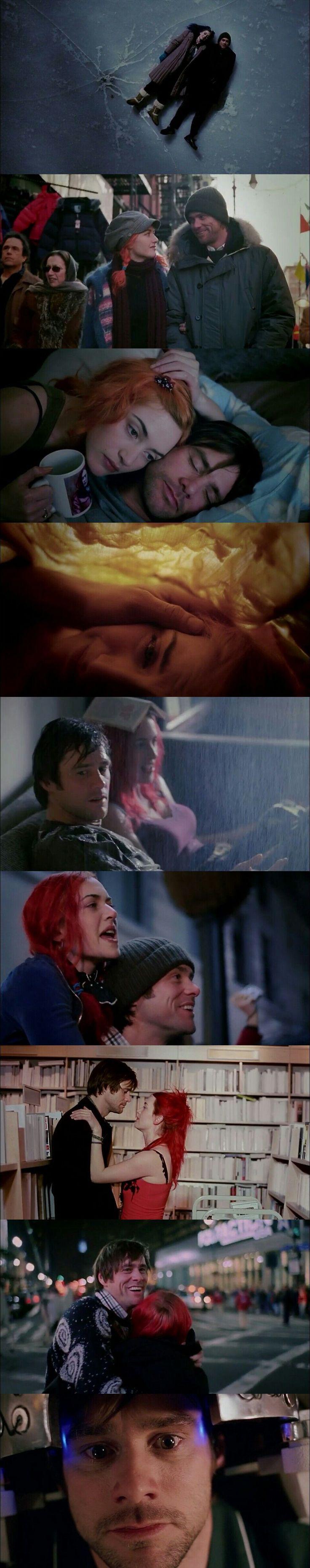 Eternal Sunshine Of The Spotless Mind(2004) Cinematography by Ellen Kuras. #DigitalFilmSchool