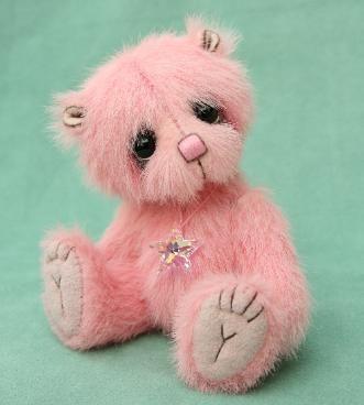artist bears , miniature teddy bears from pipkins