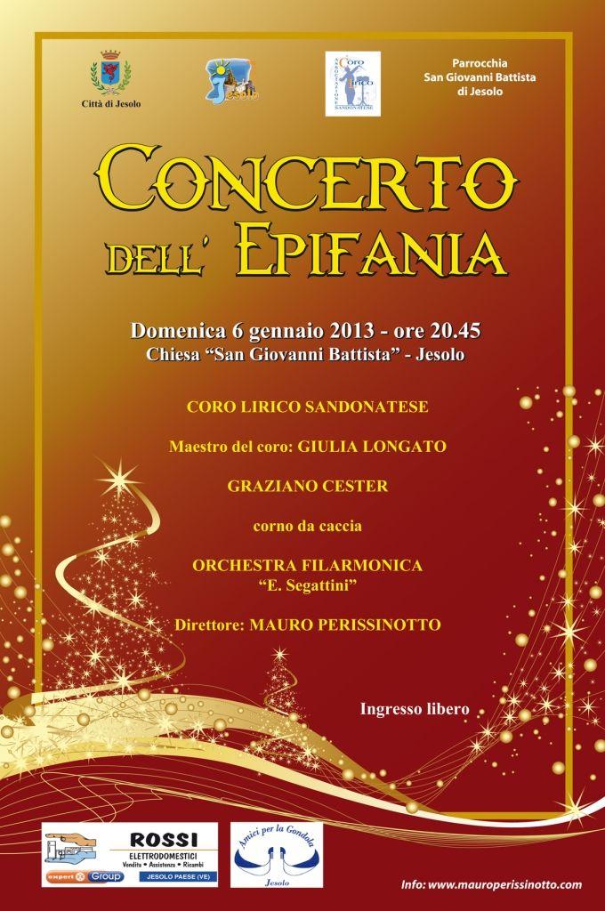 Concerto Epifania 2013 @ Jesolo #welovejesolo
