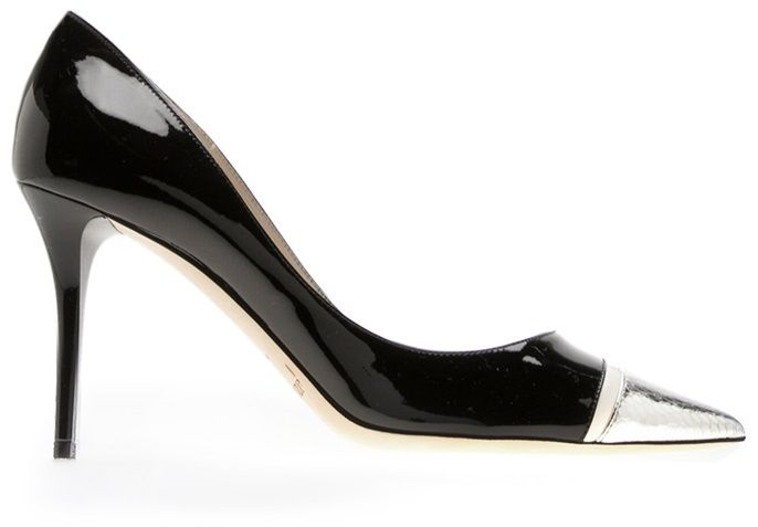 Jimmy Choo 'Bahama' captoe pumps: Capto Pumps, Pumps Black