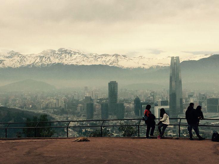 Cerro San Cristóbal. #DescubreSantiago
