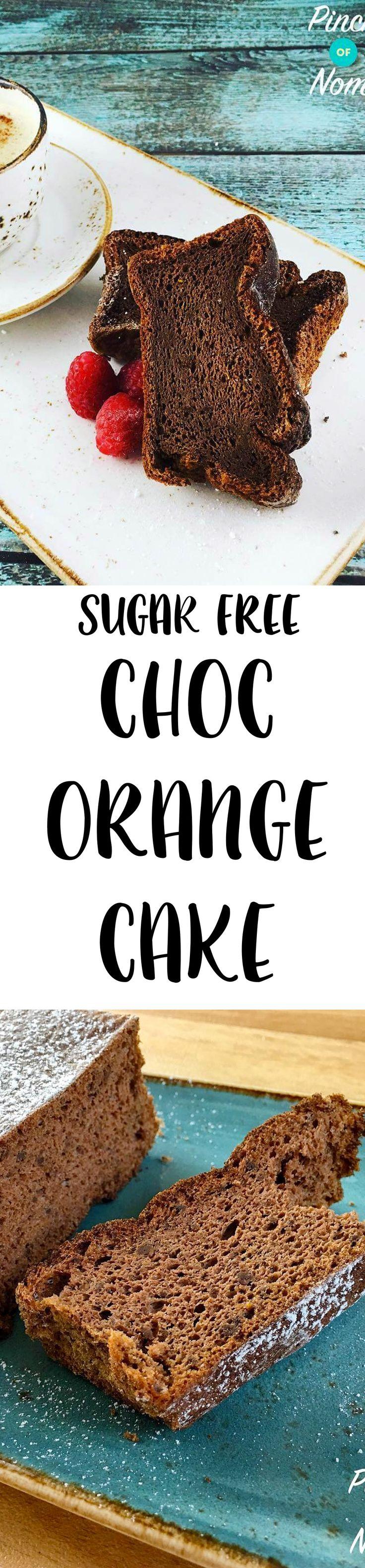 Sugar Free Chocolate & Orange Cake | Slimming World