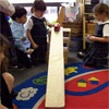 Ramps and Cars - exploring, predicting, and learning concepts by first hand experiences are DAP.