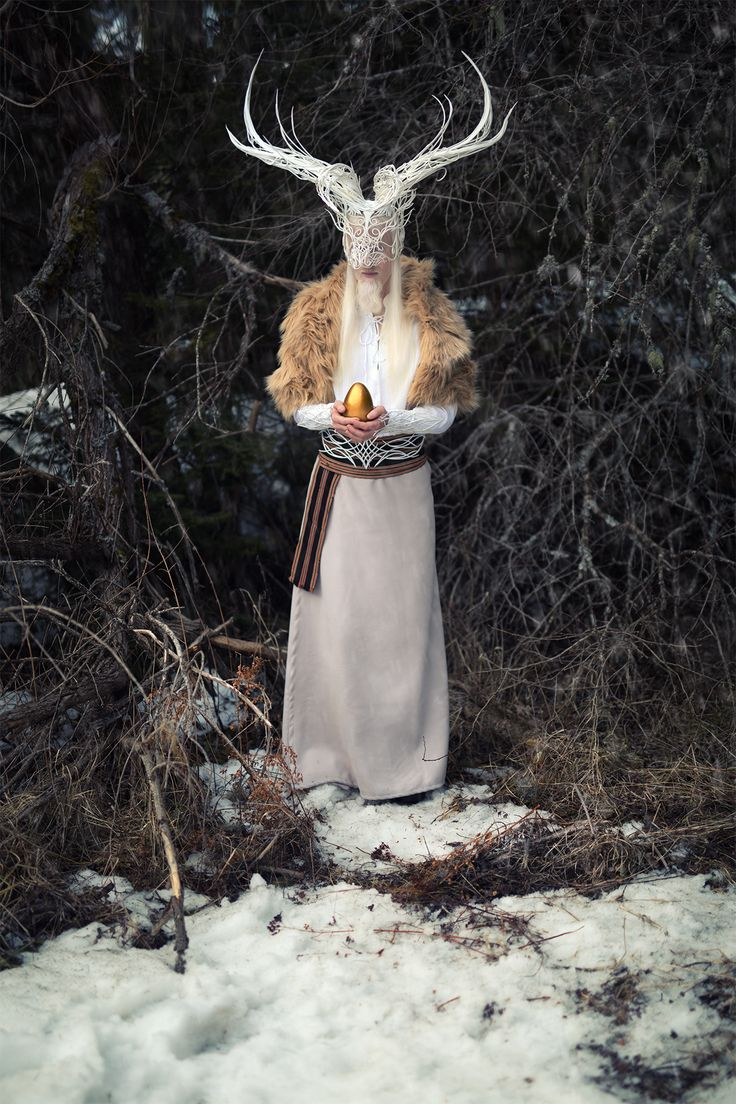 Serbian Photographer Creates Beautiful Scenes of 'Slavic Mythology' Tales That Will Blow You Away