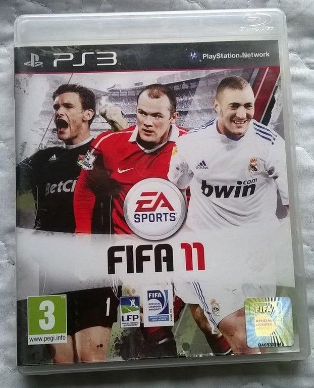 Fifa 11 jeu de football pour Sony Playstation (ps3)