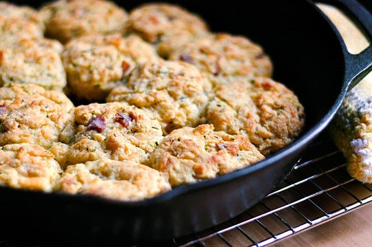 bacon cheddar biscuits | Yum | Pinterest
