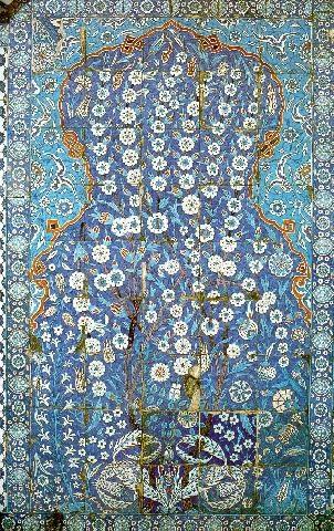 Ceramic panel, Rüstem Pasha Mosque, Istanbul