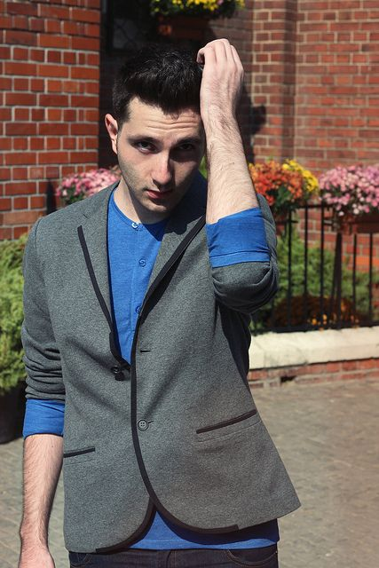 Costin M | Outfit Post: All Kinds Of Blue