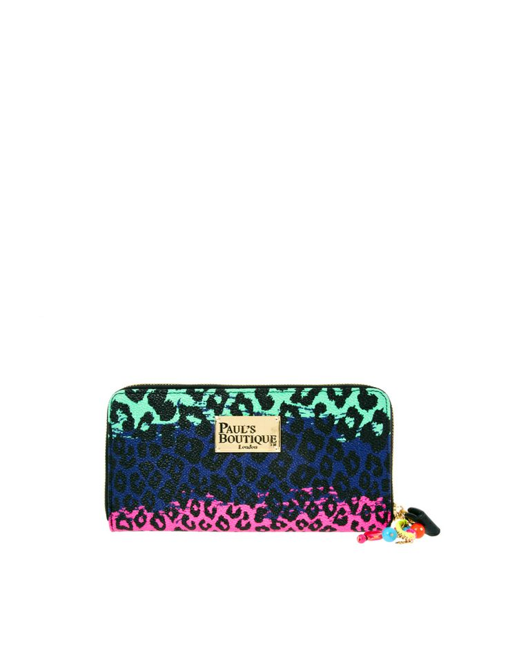 Paul's Boutique Rainbow Leopard Lizzie Purse