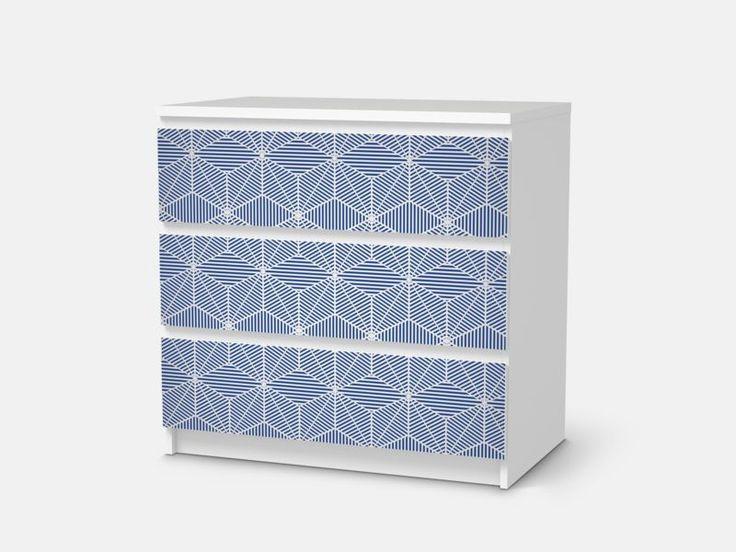 Möbelfolie Sternstunde Für IKEA Malm 3 Schubladen   Designfolie Klebefolie  In Möbel U0026 Wohnen, Hobby