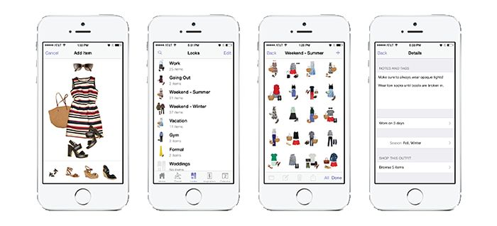 Cher's outfit program from Clueless in real life! Stylebook Closet App: 90+ Features to Organize and Manage Your Real Clothes and Outfits