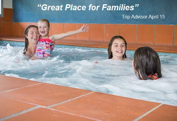 You can swim all year round with our heated spa! #winter #swim #spa #big4ballaratgoldfields