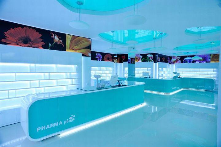 Pharmacy Design | Retail Design | Store Design | Pharmacy Shelving | Pharmacy Furniture | Pharma Plus drug store by H Studio » Retail Design Blog