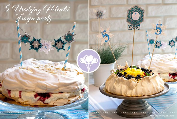 Cake topper for frozen cake by My Lovely Event