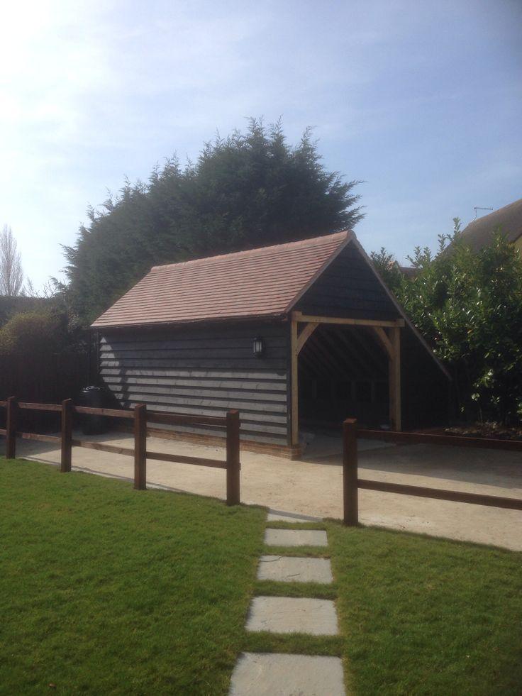 Cart Lodge at Applewood Cottage Dedham