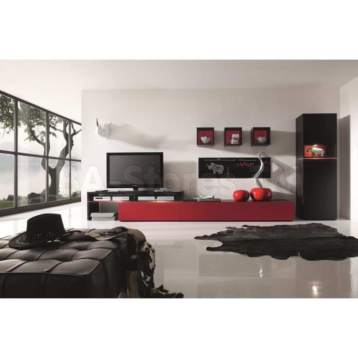 Modern Livingroom Furniture Amsterdam Combination 11181 Wall Unit By Creative