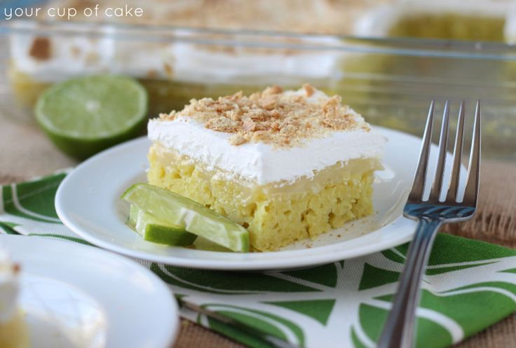 home     blog     contact     Easy Key Lime Poke Cake April 27, 2014 by Lizzy Mae Early · 4 Comments  Easy Key Lime Poke Cake  E...