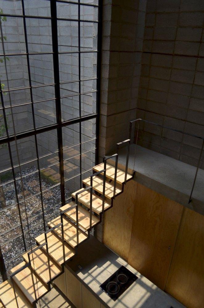 25 beste idee n over metalen wanden op pinterest for Vaste trap ipv vlizotrap