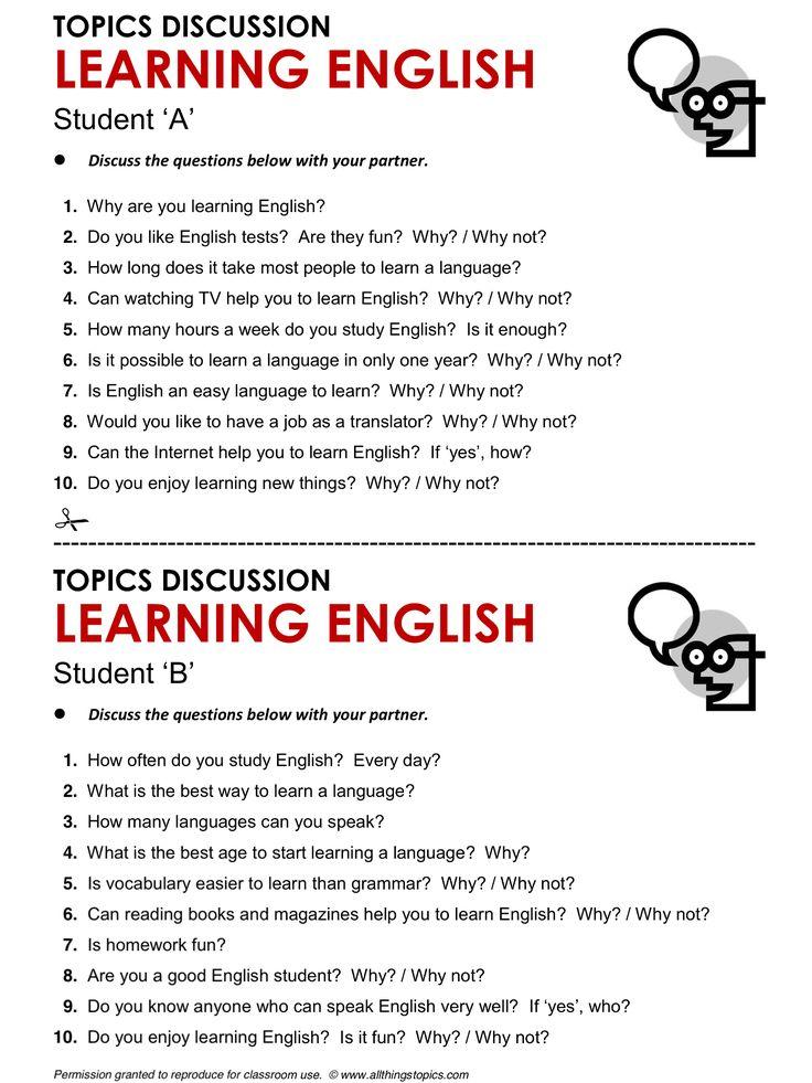 learning english language essay