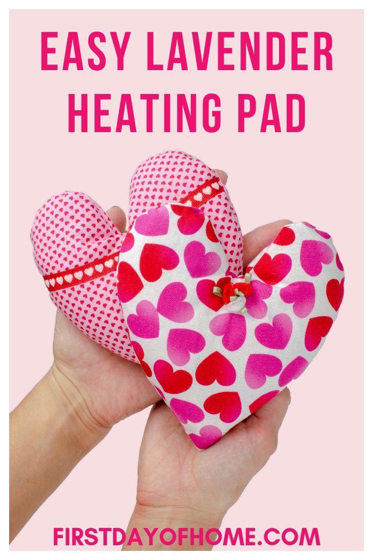 How to Make a Lavender Scented Microwavable Heating Pad