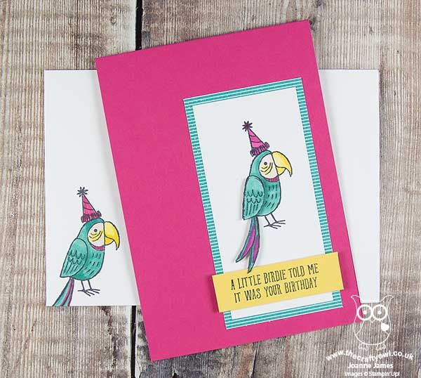 The Crafty Owl   The daily blog of Joanne James <br />Independent Stampin' Up! Demonstrator -- <a href=mailto:joanne@thecraftyowl.co.uk>joanne@thecraftyowl.co.uk</a>