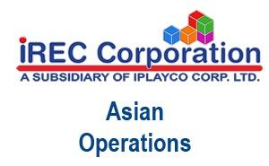 IREC Corporation is our Asian Operations. Powered by Iplayco.