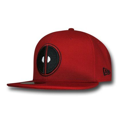 Images of Deadpool Symbol Red 59Fifty Cap