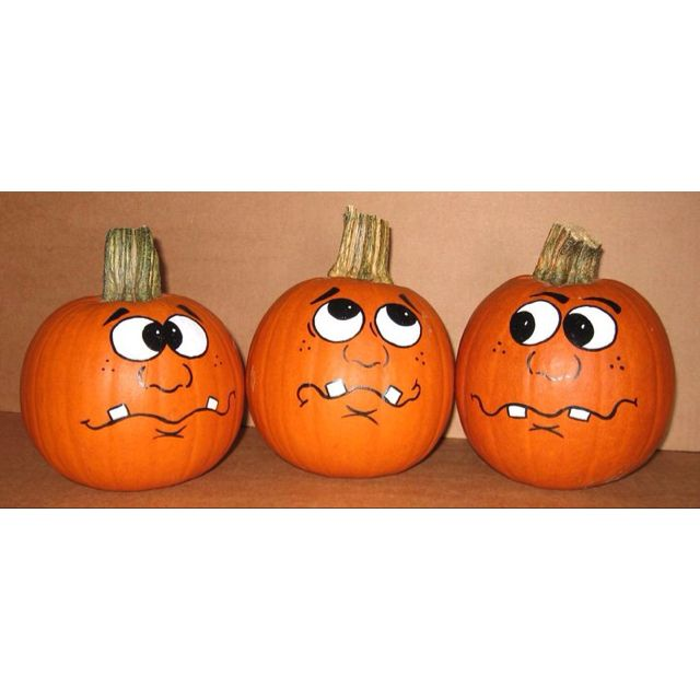 76 Best Pumpkin Face Images On Pinterest Halloween