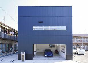 「超耐震」ヘッジ構法とは? 木造でビルトインガレージが可能な超耐震住宅木造ヘッジ構法の家 名古屋