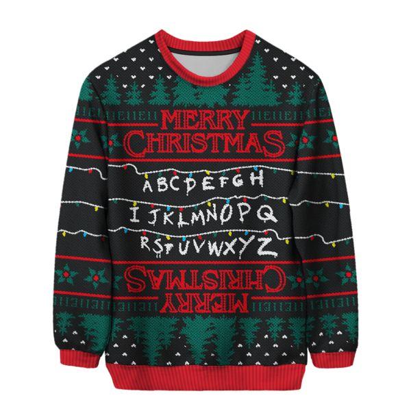 Stranger Things Christmas Sweater
