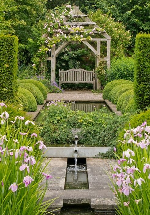 A daydream garden. Just sit on the bench and daydream.