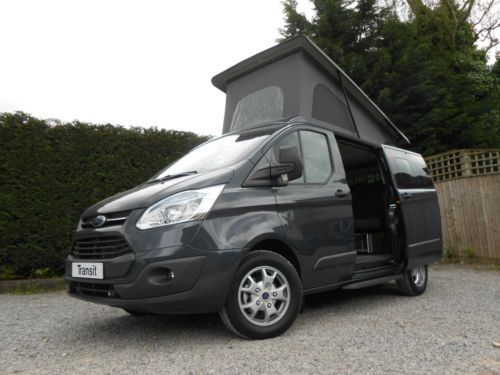 Wellhouse-Terrier-Camper-Ford-Transit-Custom-Four-berth-Five-belted-seats