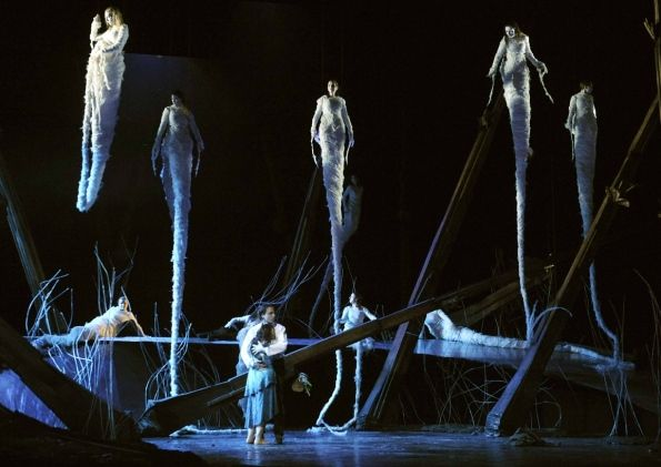 Rusalka at Glyndebourne. This production was magical.