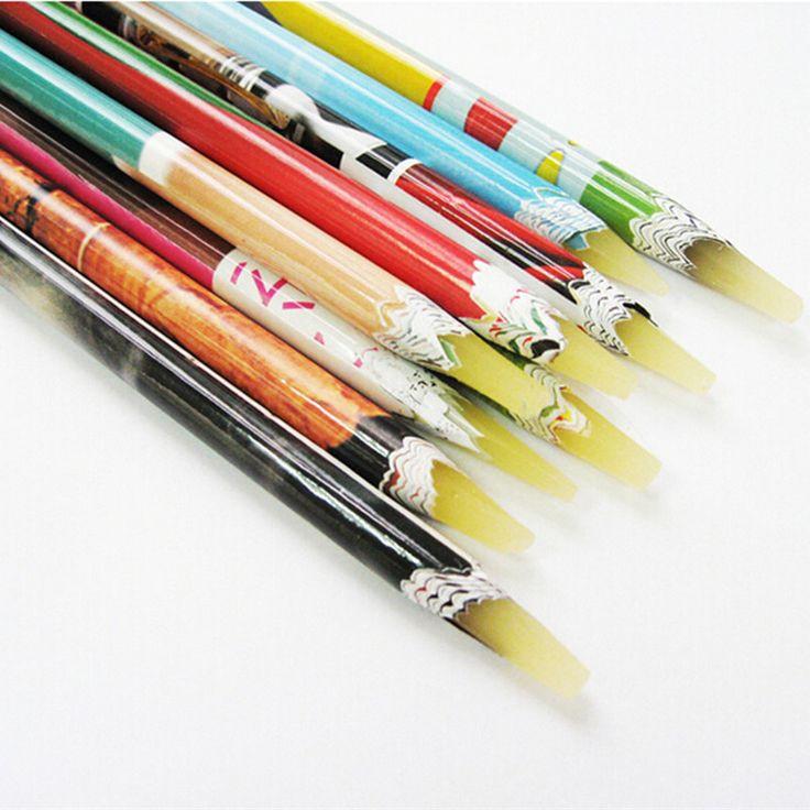 Pick Up Pen Wax Resin Steentjes Picker Potlood Ambachten Nail Art Lange Size