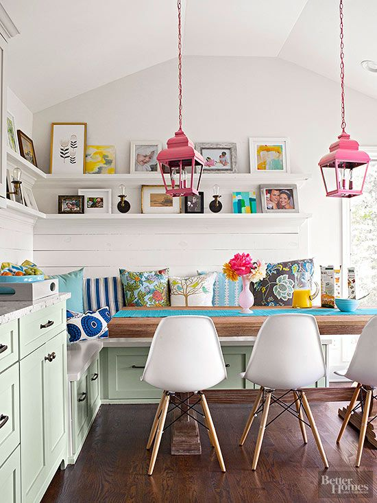 <p>Even if your kitchen is functioning well enough, you might still feel the need for a little refresh. Here are five ways to add an energizing -- and possibly unexpected -- bit of color into this hardworking space, without the expense of a major overhaul.</p>
