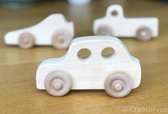 hölzerne Spielzeugauto Limousine