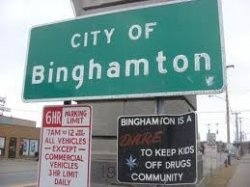 Binghamton, NY, is the small, upstate New York town where I was born. I always believed it was the best place to grow up. My opinion hasn't changed.    Just...
