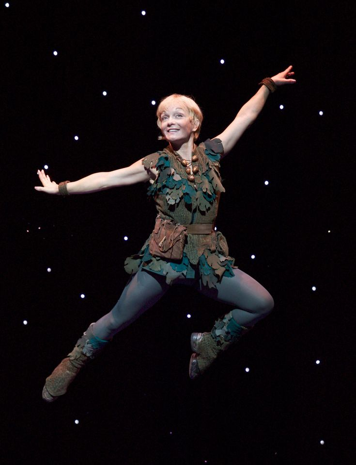 The original Peter Pan show- mine and Taylor's FAVORITE thing to act out when we were little!